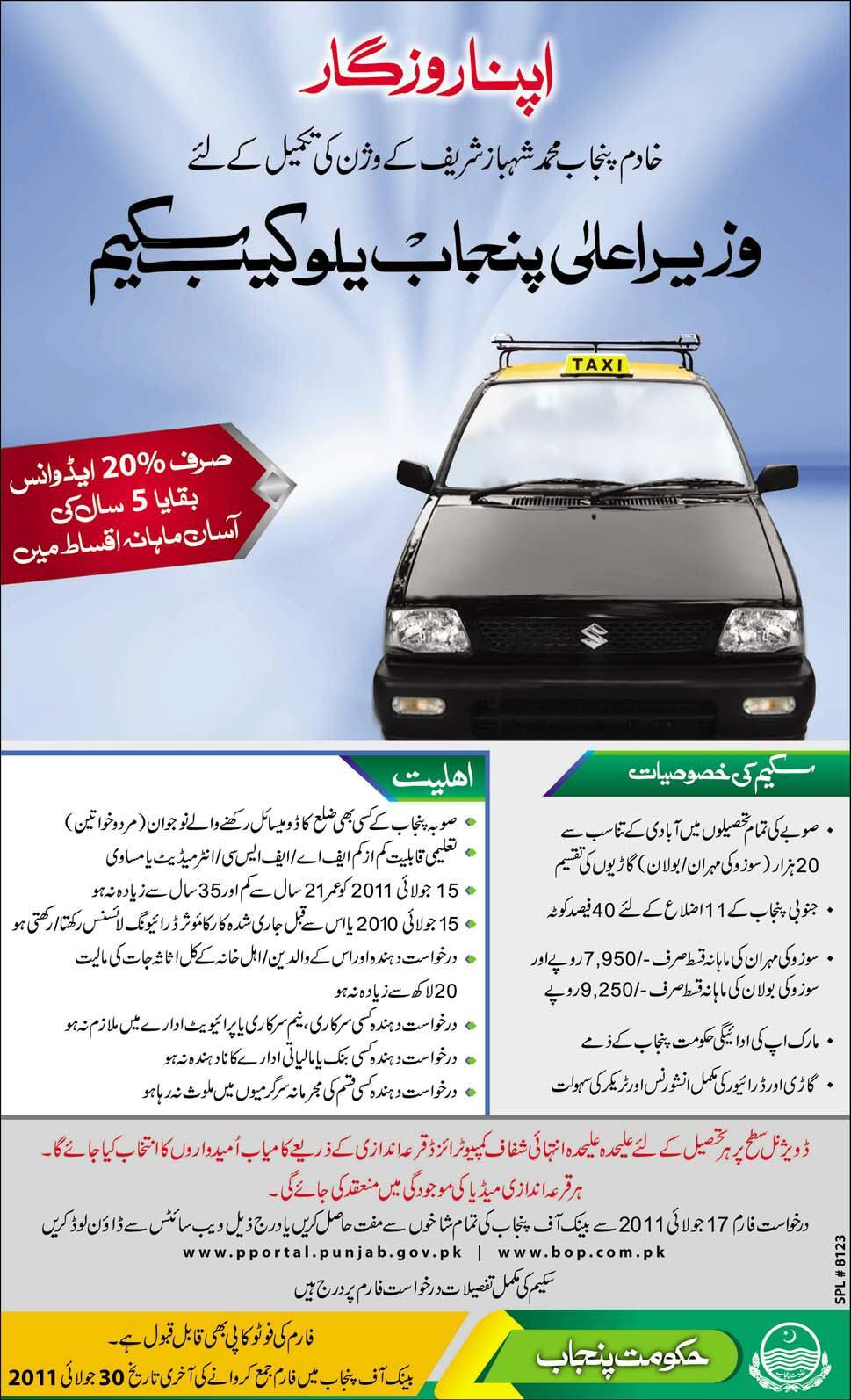 Yellow cab scheme 2011 complete procedure