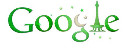 Google Celebrate, Independence Day of Pakistan 14th August 2011