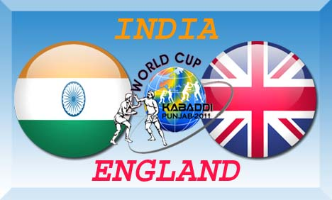 India vs England Kabaddi World Cup Match Live Streaming