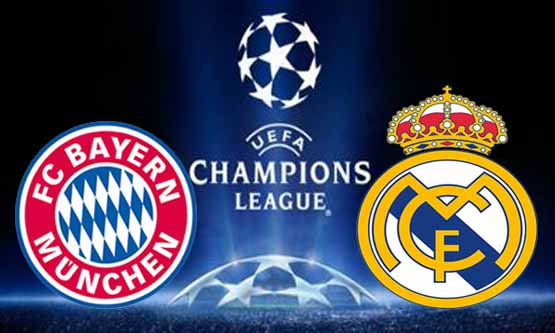 Bayern Munchen vs Real Madrid, Watch Semi Final UEFA Champions League ...
