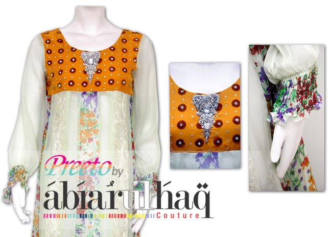 Preeto Mothers Day Collection 2012 by Abrar-Ul-Haq