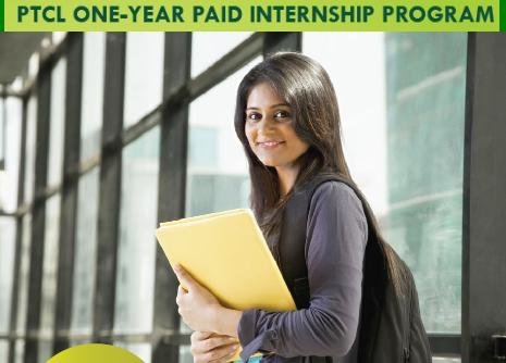 PTCL One Year Paid Internship Program for Enginners, DAE, IT and Business Administration