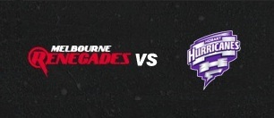 Melbourne Renegades vs Hobart Hurricanes