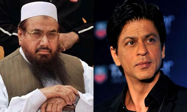 Hafiz Saeed and Shahrukh Khan