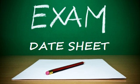 FBISE Islamabad issued Date Sheet of SSC Annual Examination 2013