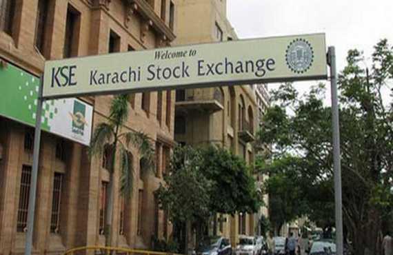 Karachi Stock Exchange jumps amid high volume trade
