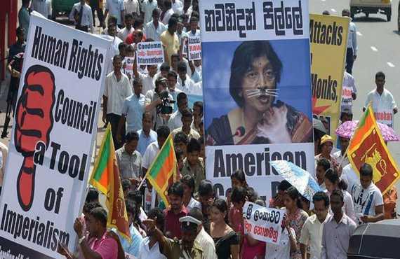 Sri Lanka state media slams UN panel after rights vote