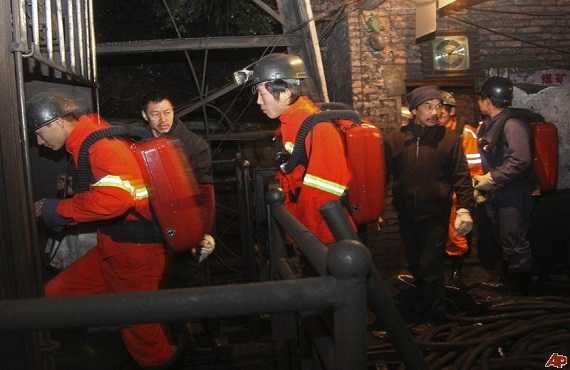 Coal mine fire kills 11 workers of China