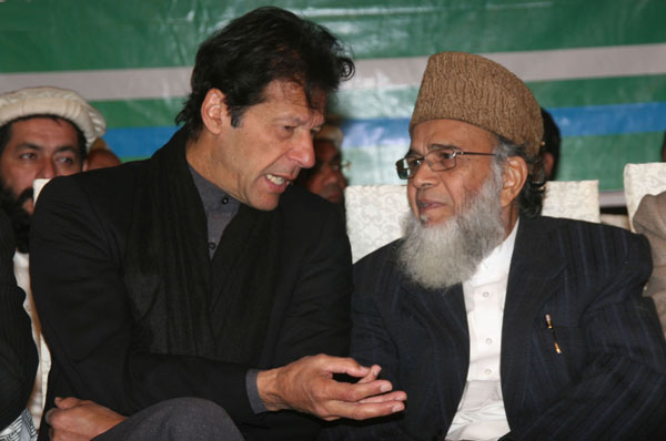 Jamaat-e-Islami decides to support PTI in KPK