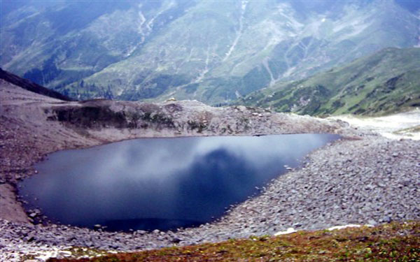 Ansoo Lake is the one of the most beautiful lakes of the world