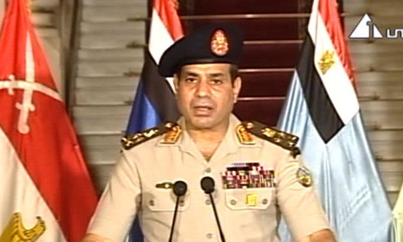 Mohammad Morsi ousted by Egyptian army chief, emergency imposed