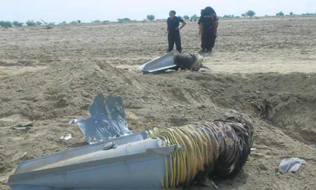 PAF fighter aircraft crashed in Mianwali