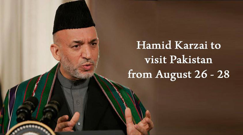 Afgan President Hamid Karzai to Visit Pakistan