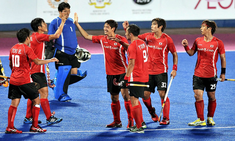 Korea defeat Pakistan in Semi Final of Hockey Asia Cup 2013