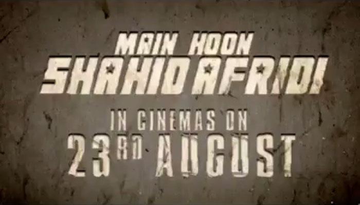 'Main Hoon Shahid Afridi' hit cinemas