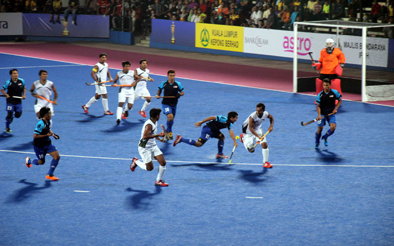 Pakistan beat Malaysia to reached Semi Final of Asia Hockey Cup 2013