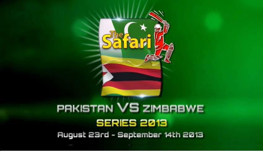 Pakistan vs Zimbabwe 2nd T20 Cricket Match on August 24, 2013
