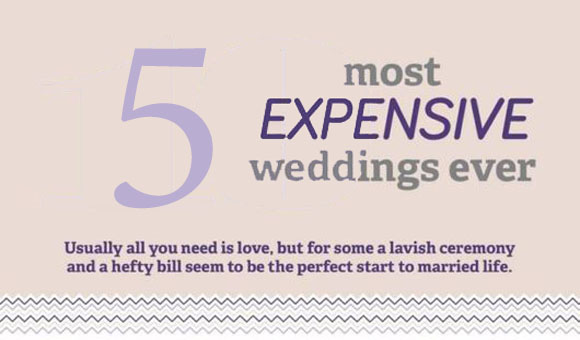 5 Most Expensive Weddings in History