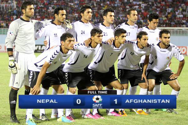 Afghanistan beat Nepal to enter SAFF Championship 2013 Final