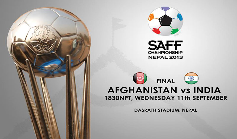 Afghanistan vs India, Watch Final Football Match SAFF Championship 2013