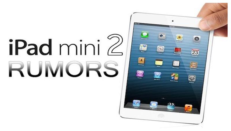 Apple iPad mini 2 have fingerprint scanner: Rumors