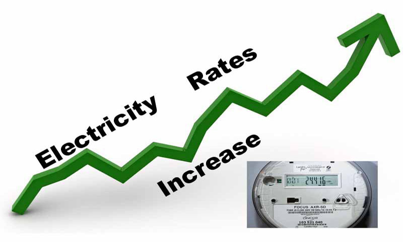 Govt. increased Electricity tariff for residential consumers