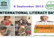 Internatinal Literacy Day 2013