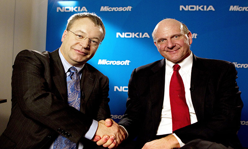 Microsoft buys Nokia phone unit to fight Apple, Google