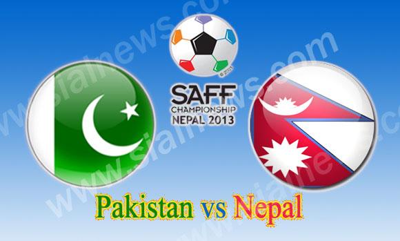 Pakistan vs Nepal, Watch 6th Football Match SAFF Championship 2013