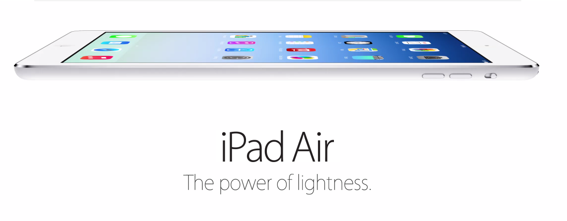 Apple unveils new iPad Air with slimmer design and faster performance