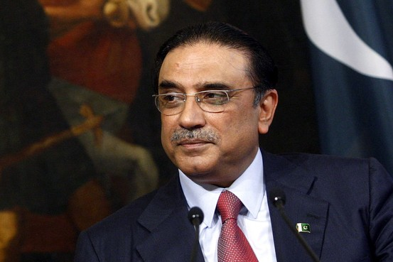 Asif Ali Zardari Seeking Full Proof Security