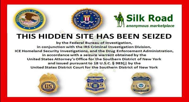 FBI shut down online drug marketplace 'SILK ROAD'