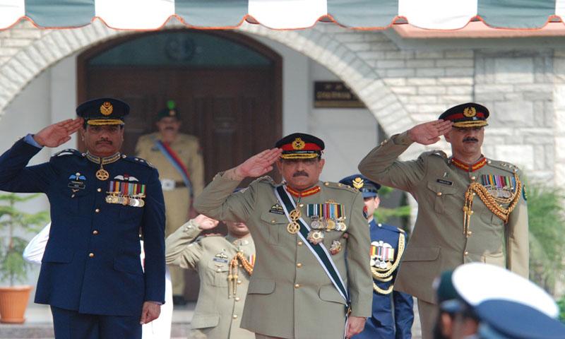 General Khalid Shameem Wynne retires today