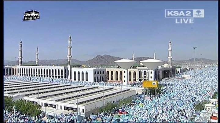 Mufti Azam says, Islam gives message of peace – Hajj Sermon