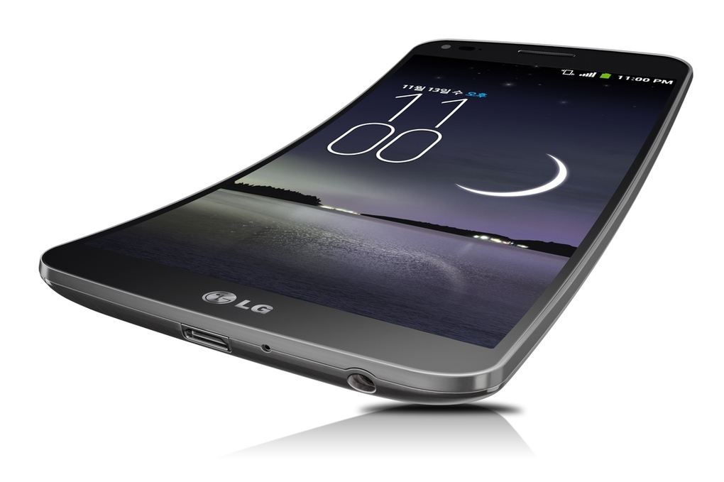 LG officially announced Curved Smartphone 'G Flex'