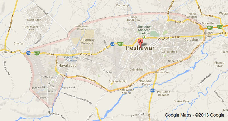Blast near Polio awareness camp in Bazid Khel, Peshawar