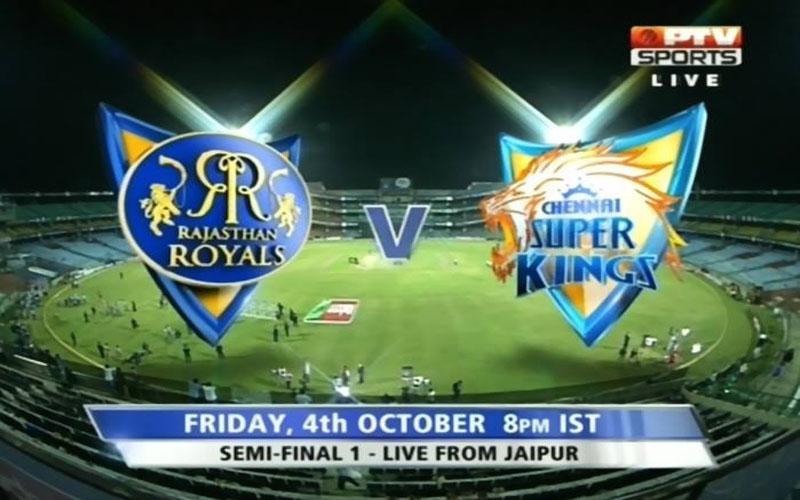 Rajasthan Royals vs Chennai Super Kings , Watch 1st Semi Final Champion League T20 2013