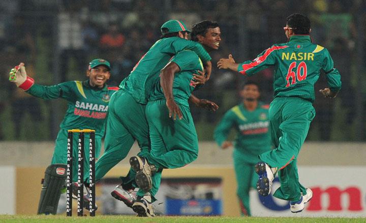 Bangladesh crushed New Zealand by 43 runs in 1st ODI