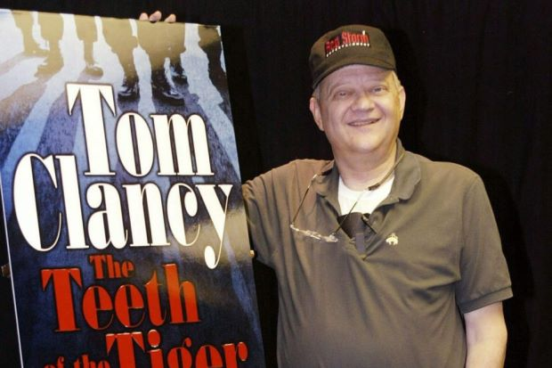 US Author Tom Clancy passed away at age of 66