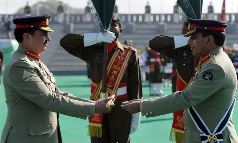 General Raheel Sharif officially assumes Pakistan Army command