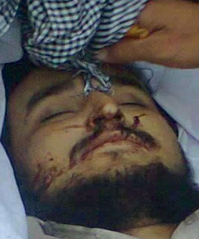 TTP Leader Hakimullah Mehsud last picture released on social media