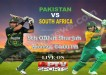 Pakistan vs South Africa 5th ODI Cricket Match at Sharjah