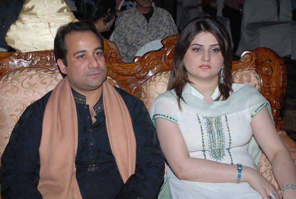 Rahat Fateh Ali Khan and Model Falak Wedding Picture