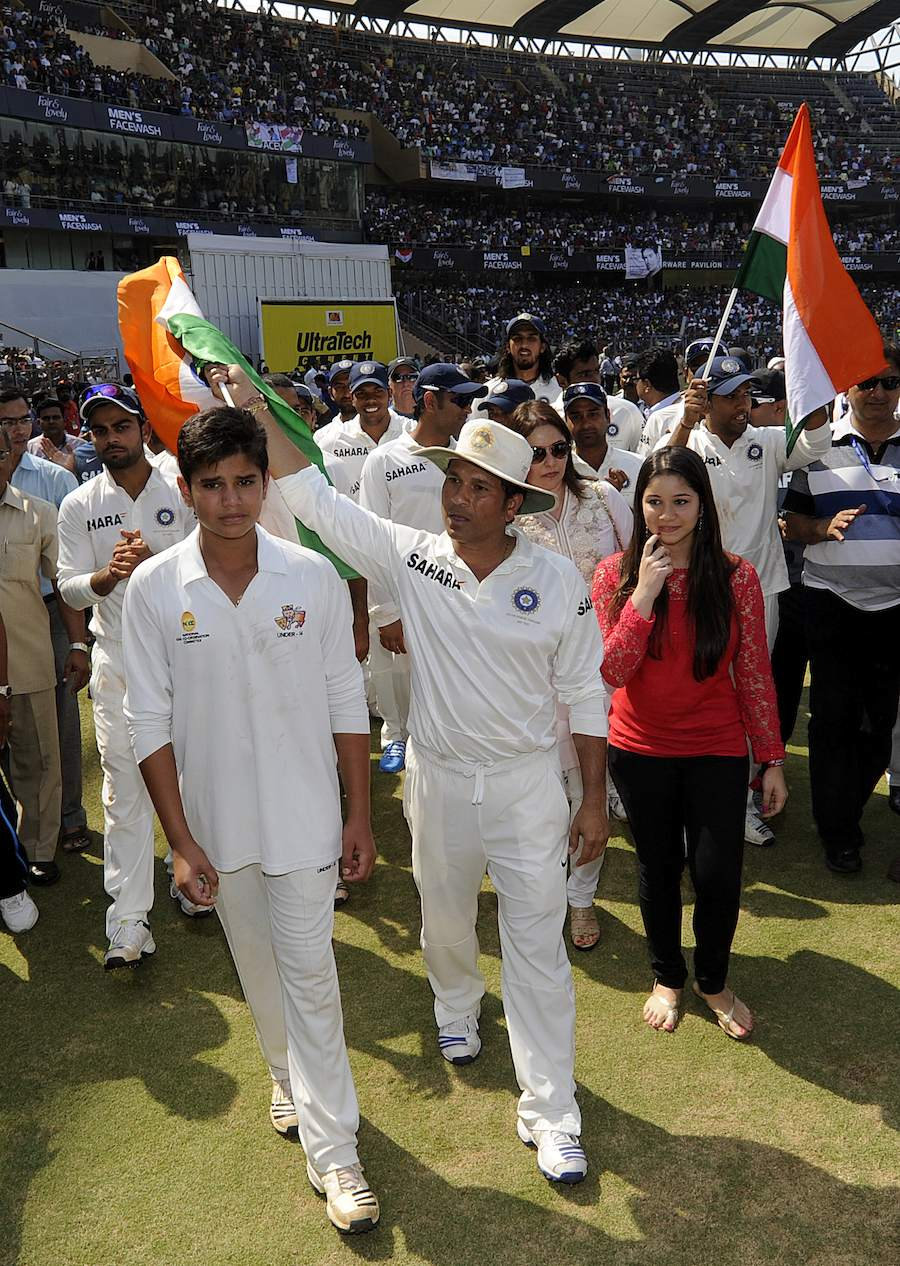 Sachin Tendulkar leaves cricket with heartwarming goodbye speech