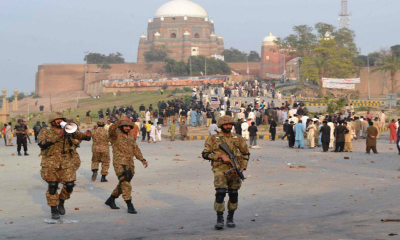 Shiah-Sunni Riots: Army deployed in Multan, Section 144 imposed