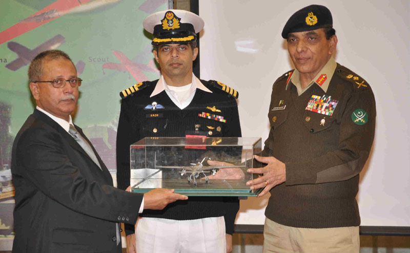 Unmanned Aerial Vehicles (UAVs) inducted in Pakistab Armed Forces