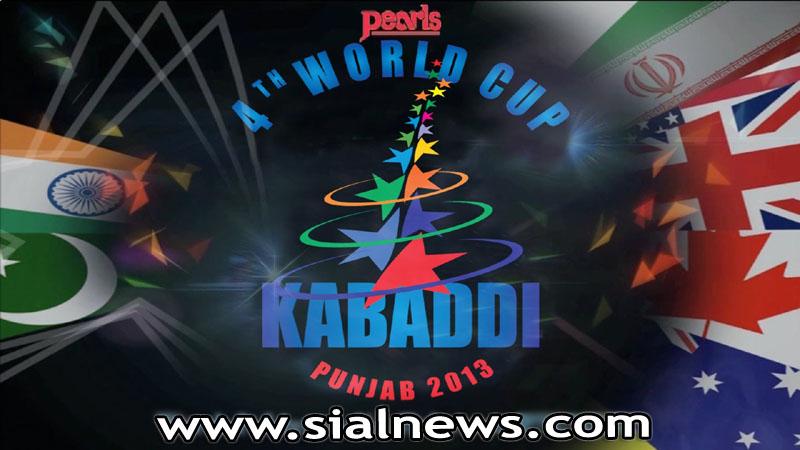 Semi Finals World Kabaddi Cup 2013 – Bathinda Punjab, India