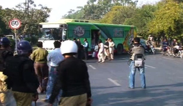 Police arrest 21 IJT students of Punjab University as protests turn violent