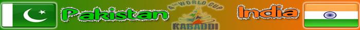 Kabaddi World Cup 2013 FInal