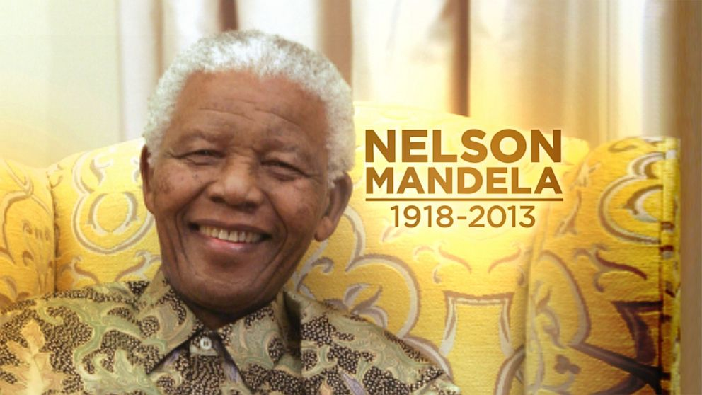 South Africa's Nelson Mandela died in Johannesburg